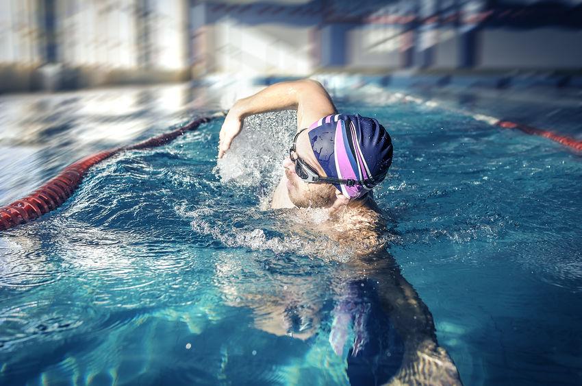 Platte buik zwemmen