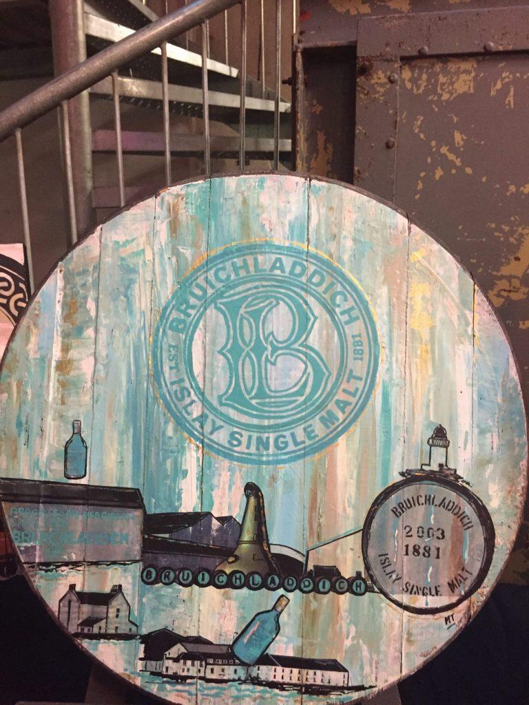 Bruichladdich Whisky Art