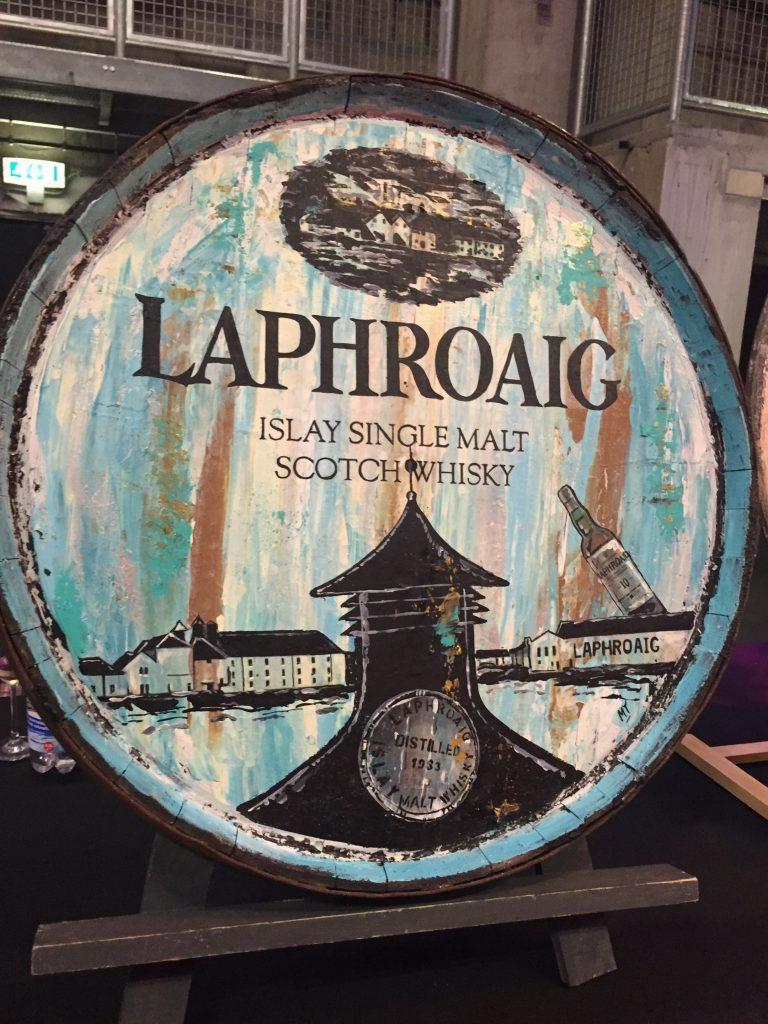 Whisky art Laphroaig