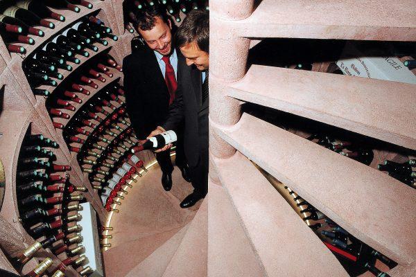 Exclusieve wijnkelders