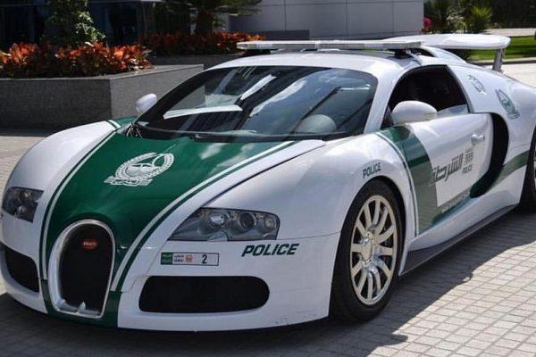 Bugatti Veyron Politie Dubai