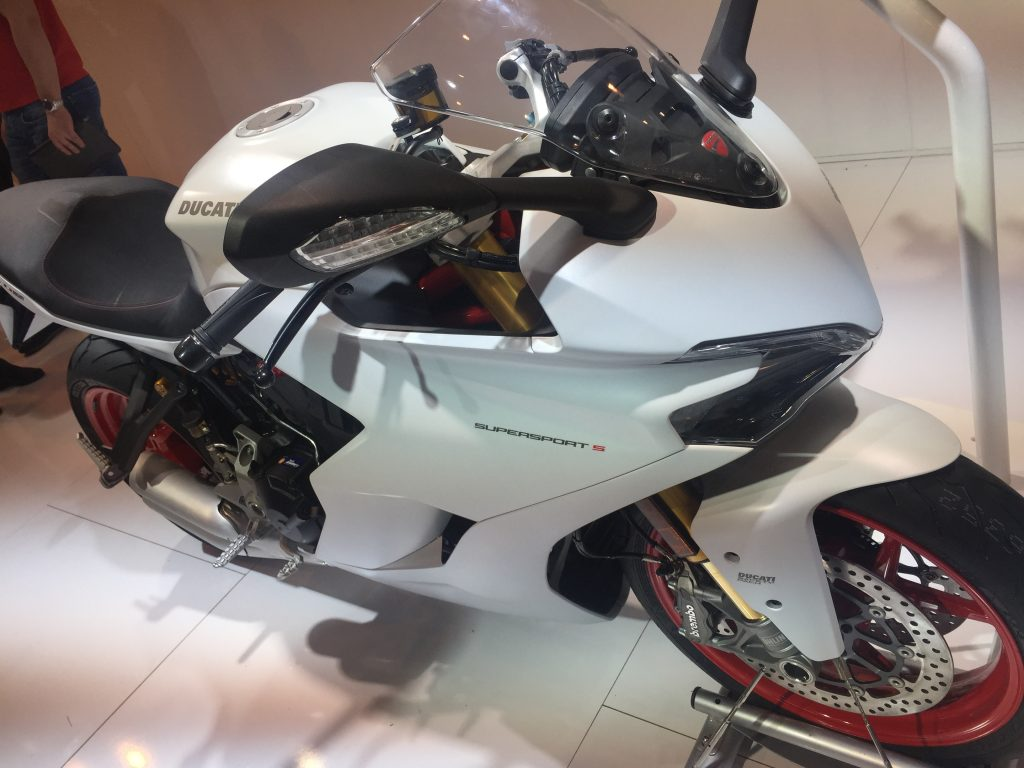 Ducati Supersport S voorkant