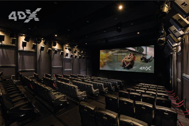 4Dx bioscopen Pathe Nederland