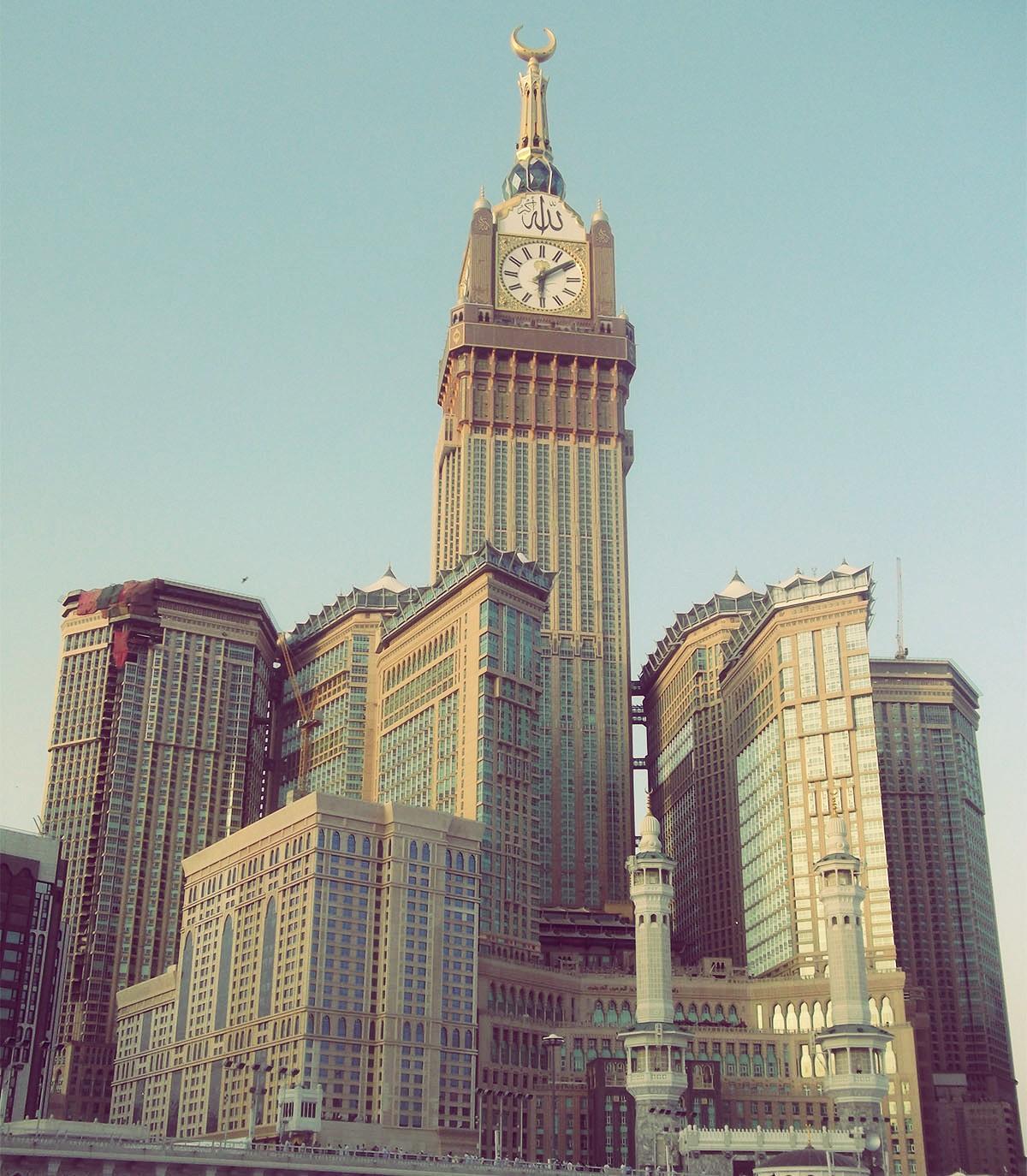 Abraj Al Bait, Saoedi-Arabië