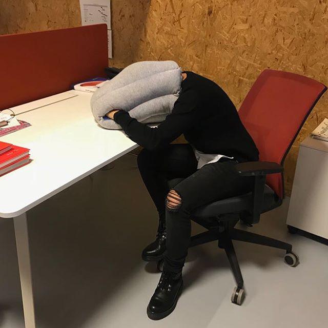 Bureau slaapzak
