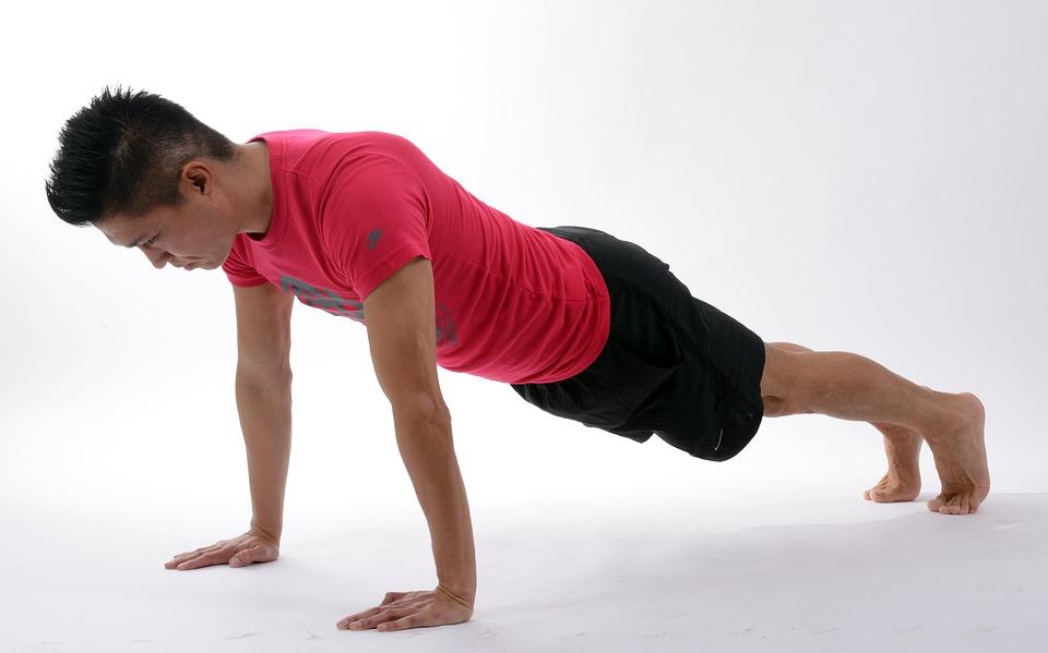 krachtoefeningen: push-up