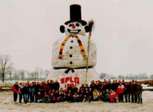 Sneeuwpop espelo