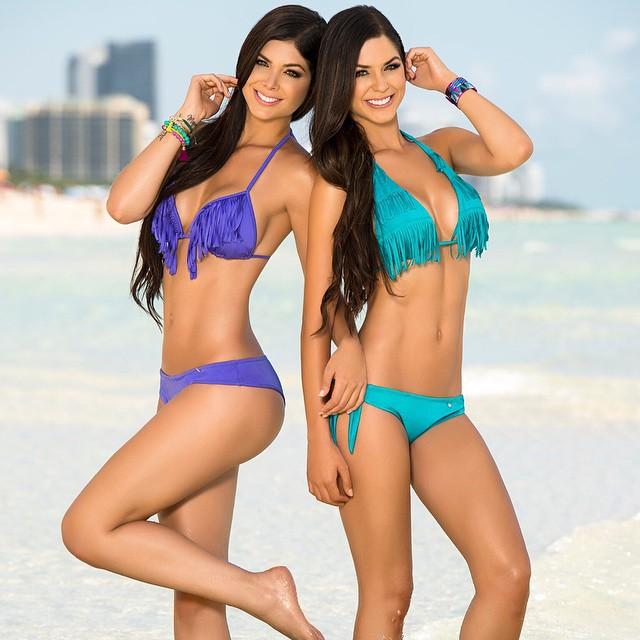Camila Davalos en Mariana Davalos
