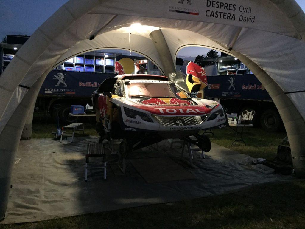 Dakar 2018 Autos
