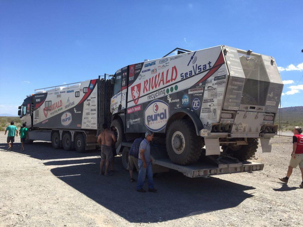 Dakar 2018 Trucks