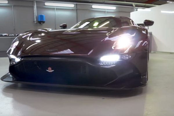 aston martin vulcan road legal