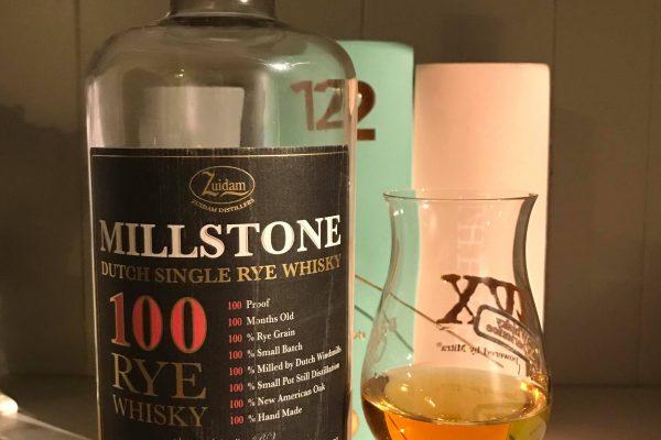 Millstone 100 Rye whiksy tasting