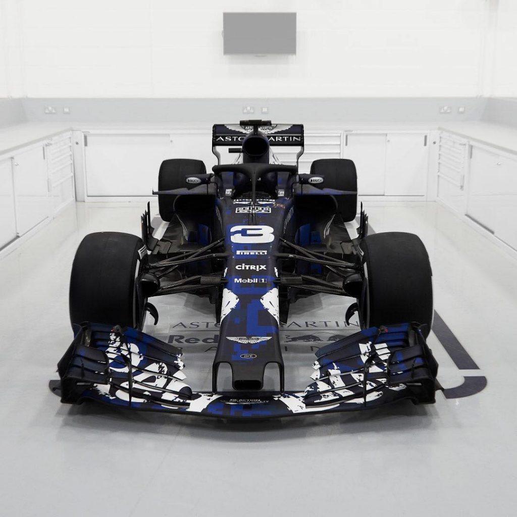 De Nieuwe Formule 1 Auto Van Redbull De Rb14 Manisfaction