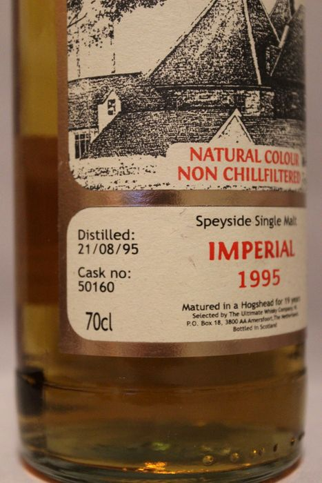 Ultimate imperial 19 whisky