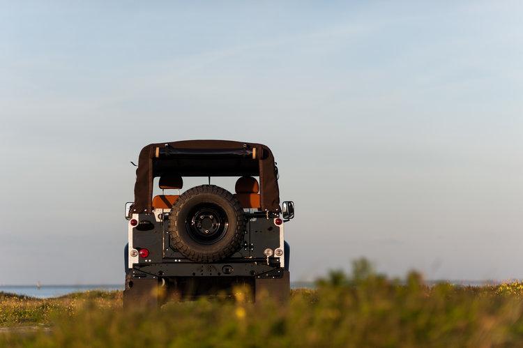Landrover 2.4 Diesel achterlant