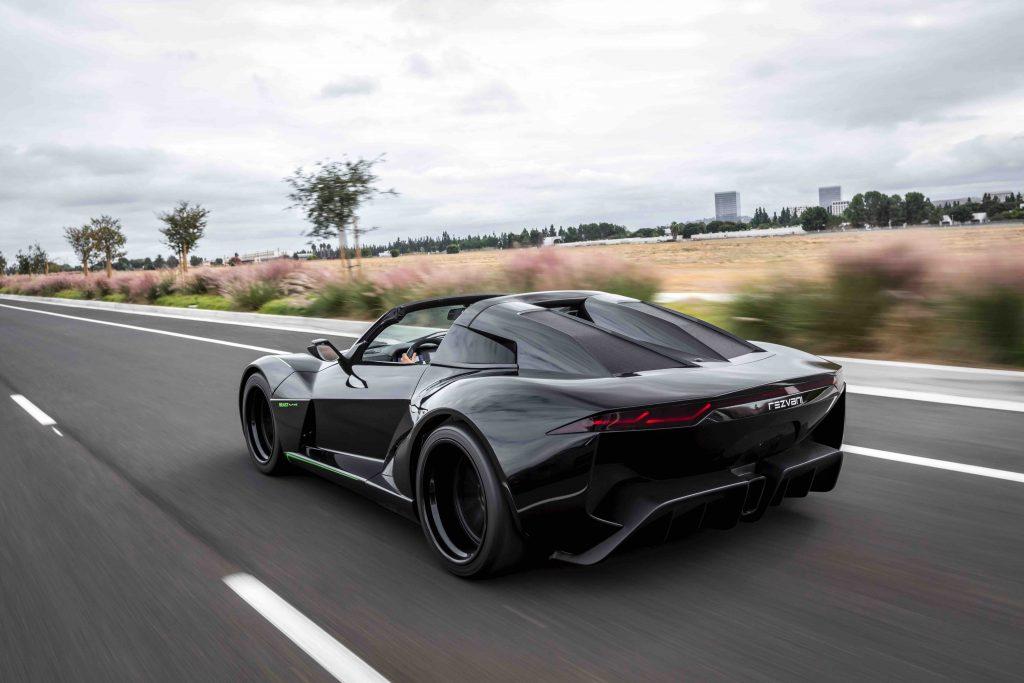 rezvani beast alpha x driving on road Manisfaction