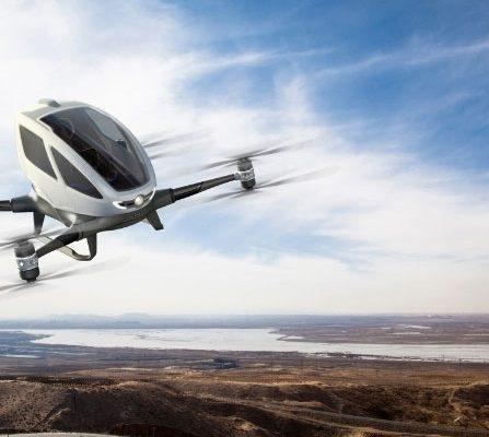 KPN drone die mensen kan vervoeren