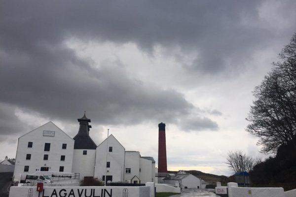 Lagavulin distileerderij Islay