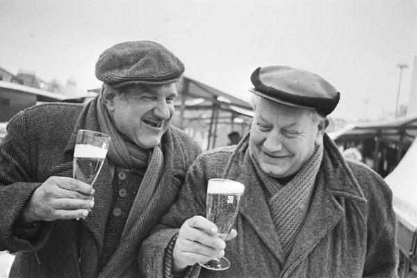 mannen bier
