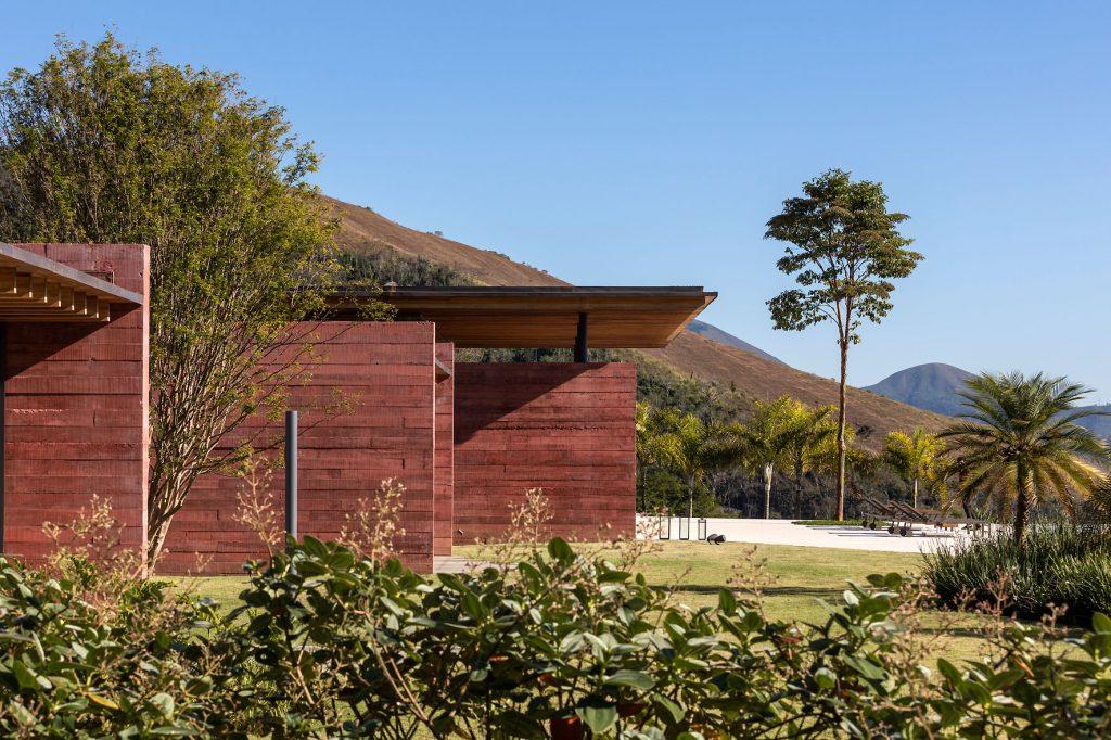 Casa Terra - Beton wanden
