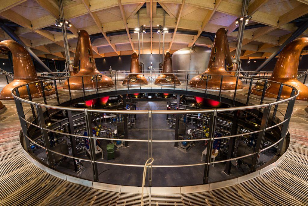 De Macallan distilleerderij van binnen