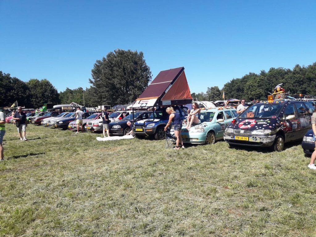 Slapen tijdens de Carbage run 2018 Team Capain Conjo deel 2