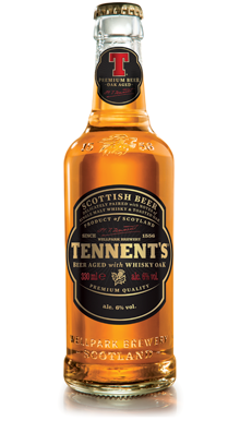 tennent's whisky bier