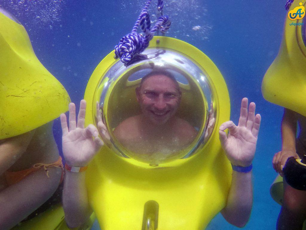 Aquafari Onderwaterscooter Manisfaction