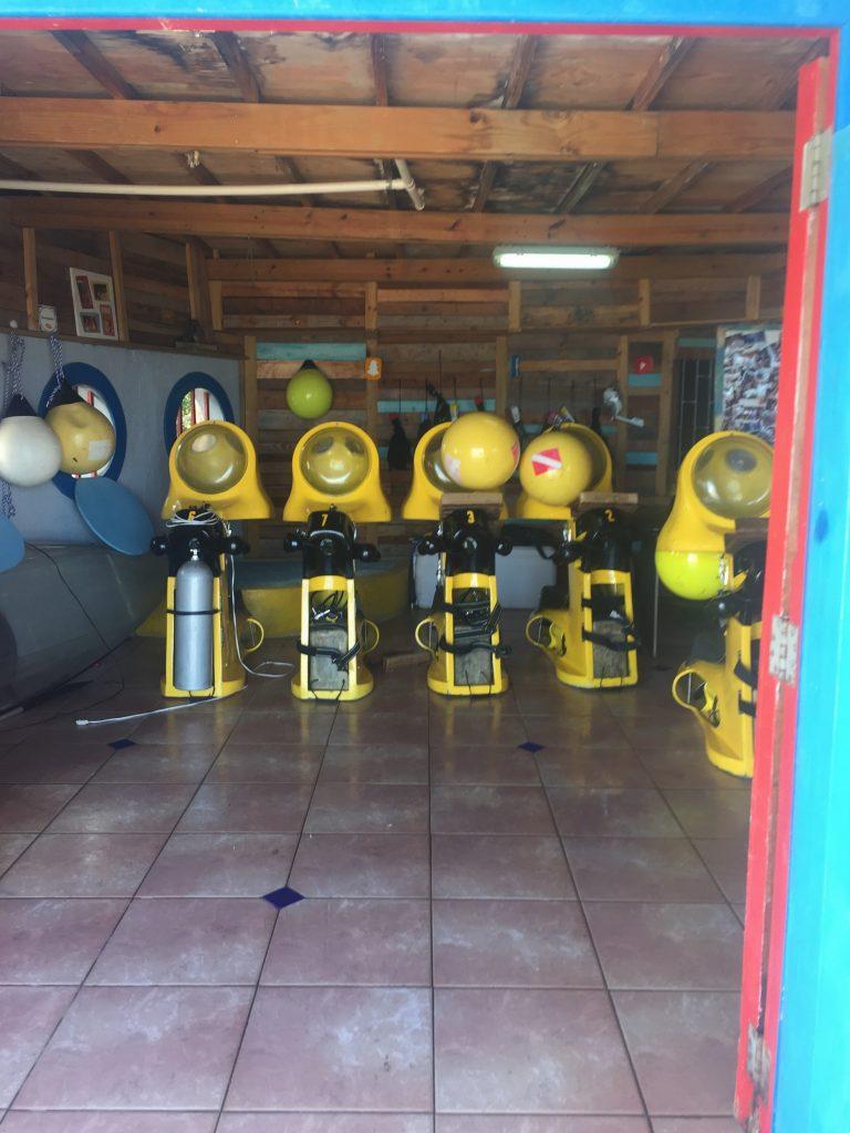 Aquafari onderwaterscooters zijn er klaar voor