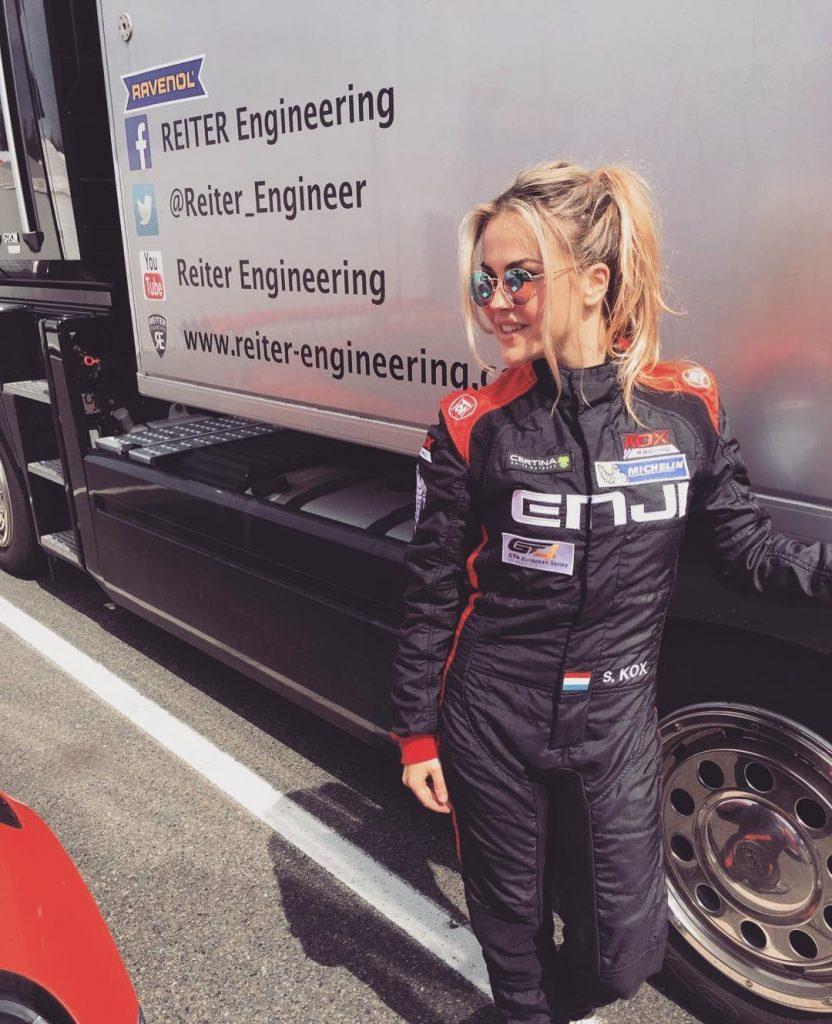 Stephane Kox eerste Nederlandse vrouwelijke F1 coureur
