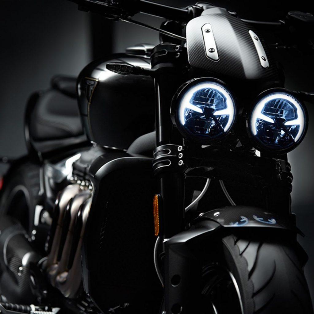 Triumph concept motor TFC Koplampen
