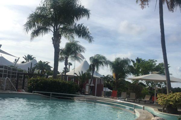 Chogogo Dive & Beach Resort zwembad