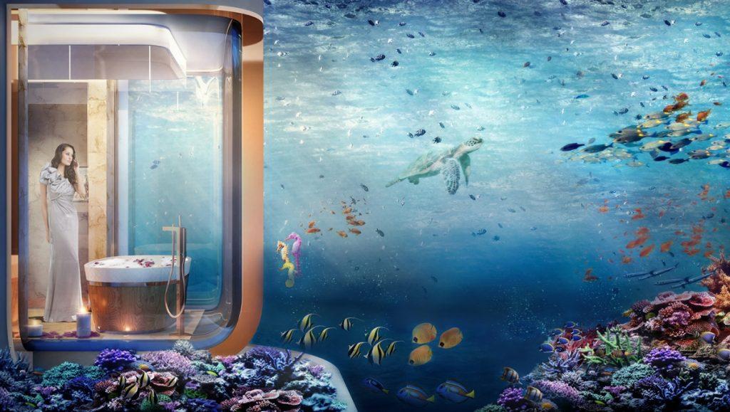the-floating-seahorse badkamer met zeezicht