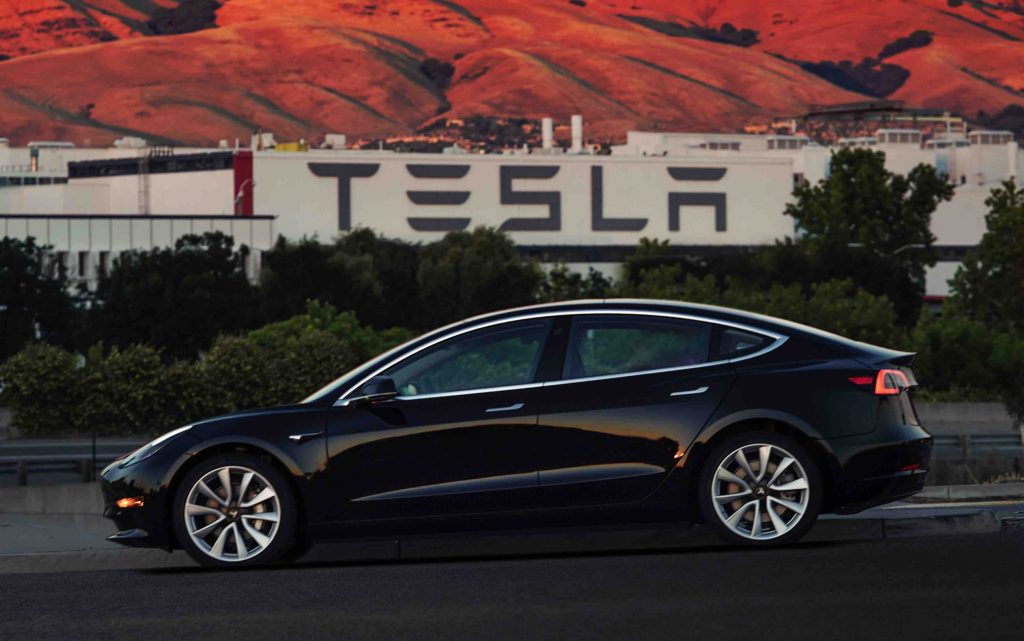 Tesla First Production Model 3