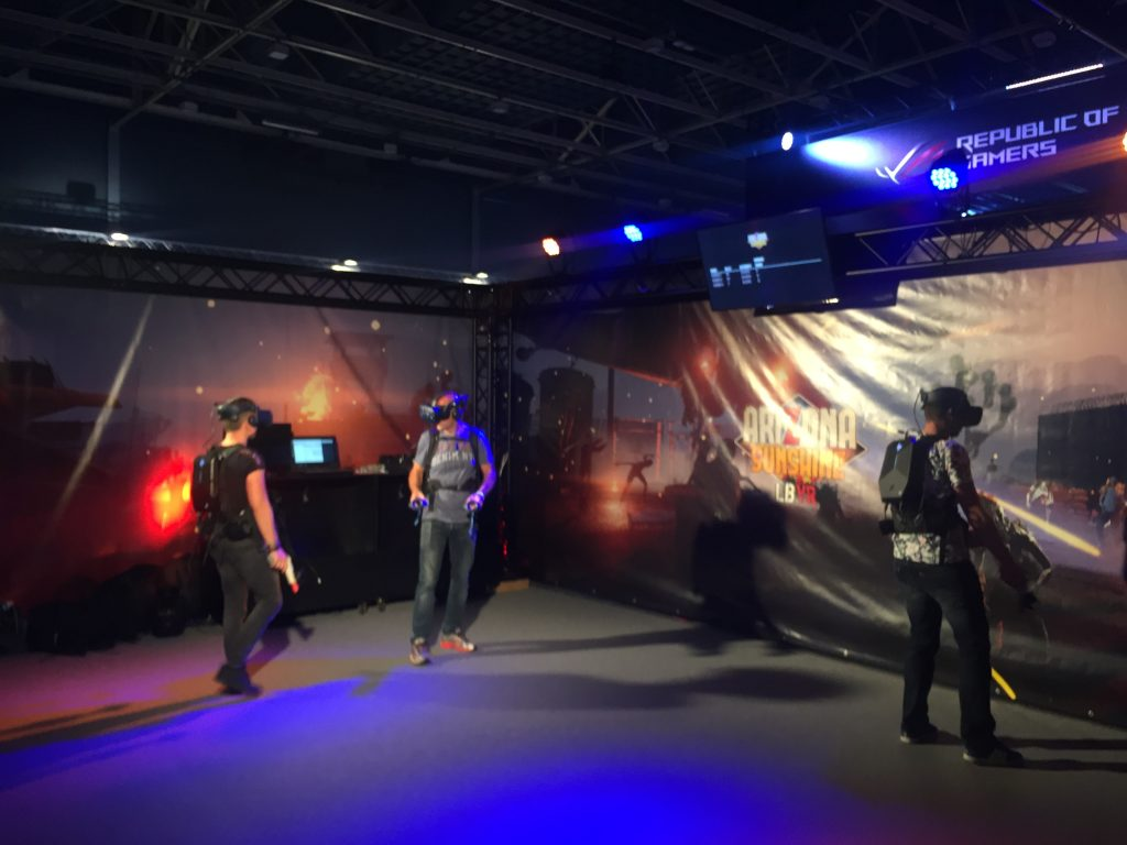Arizona Sunshine VR Firstlook Festival