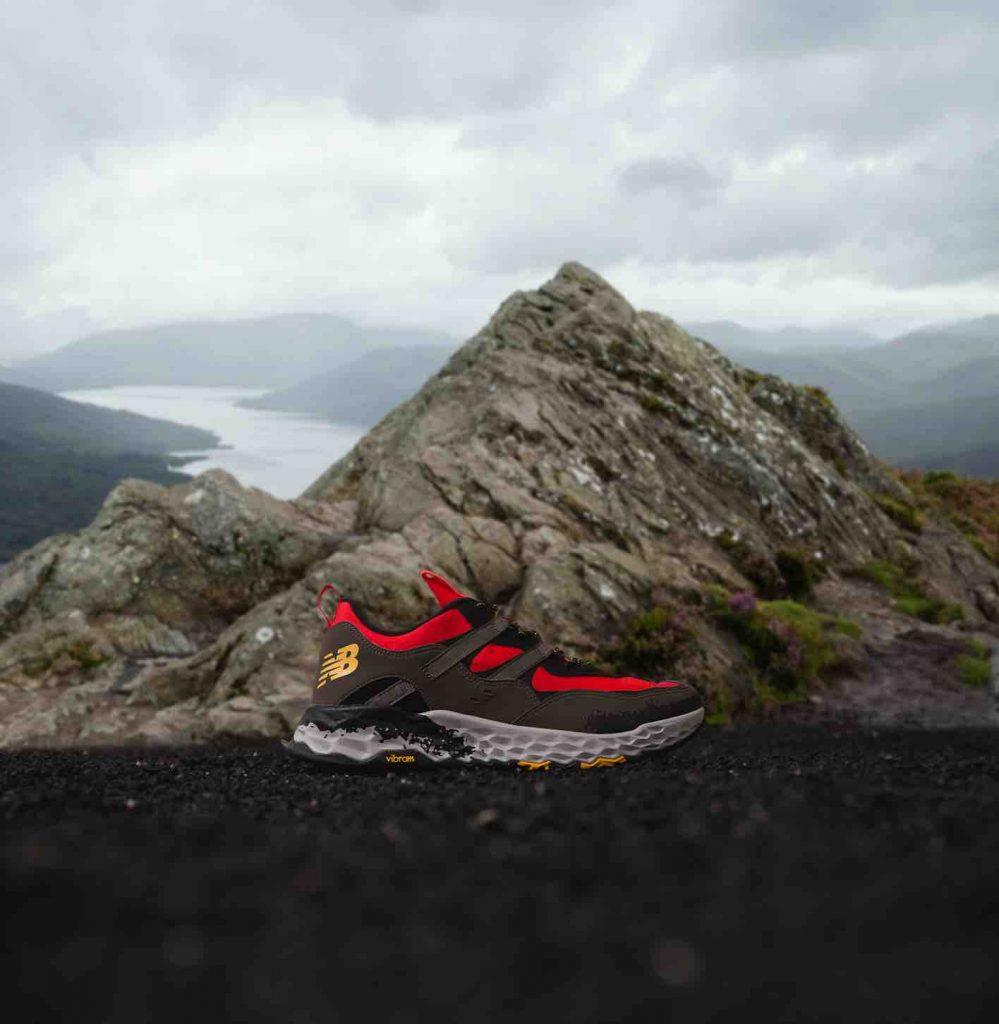 Rode New Balance 850AT schoenen