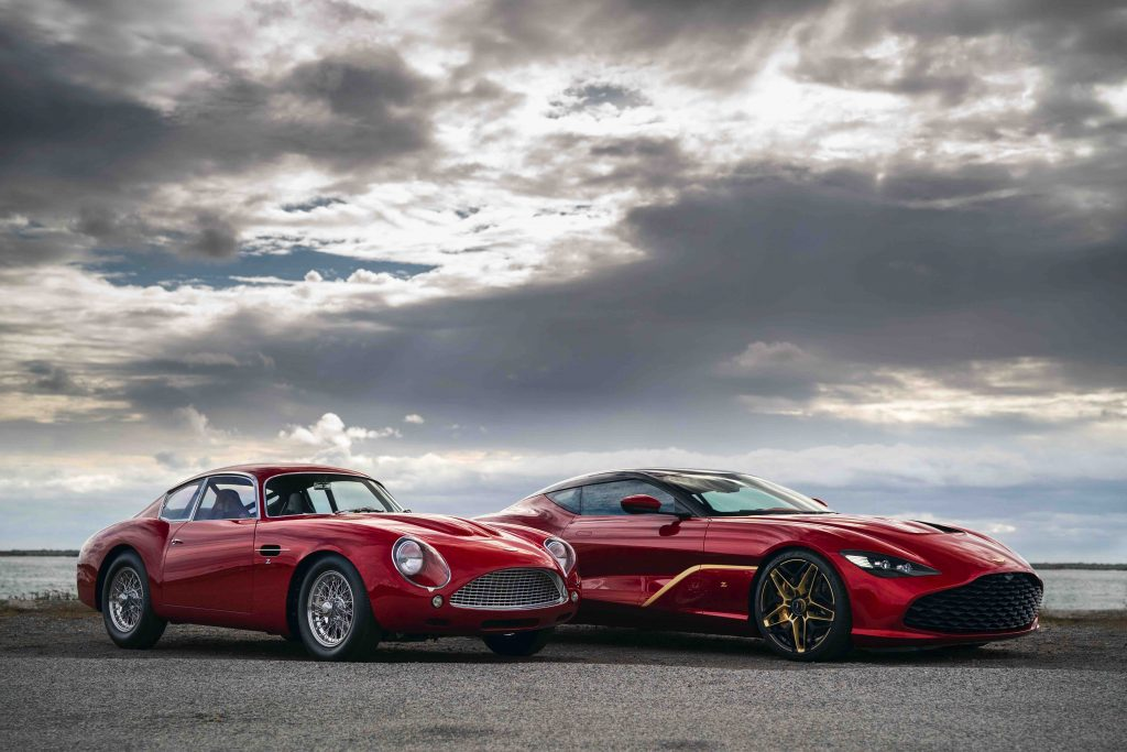 Aston Martin dbs gt db4 Zagato manisfaction