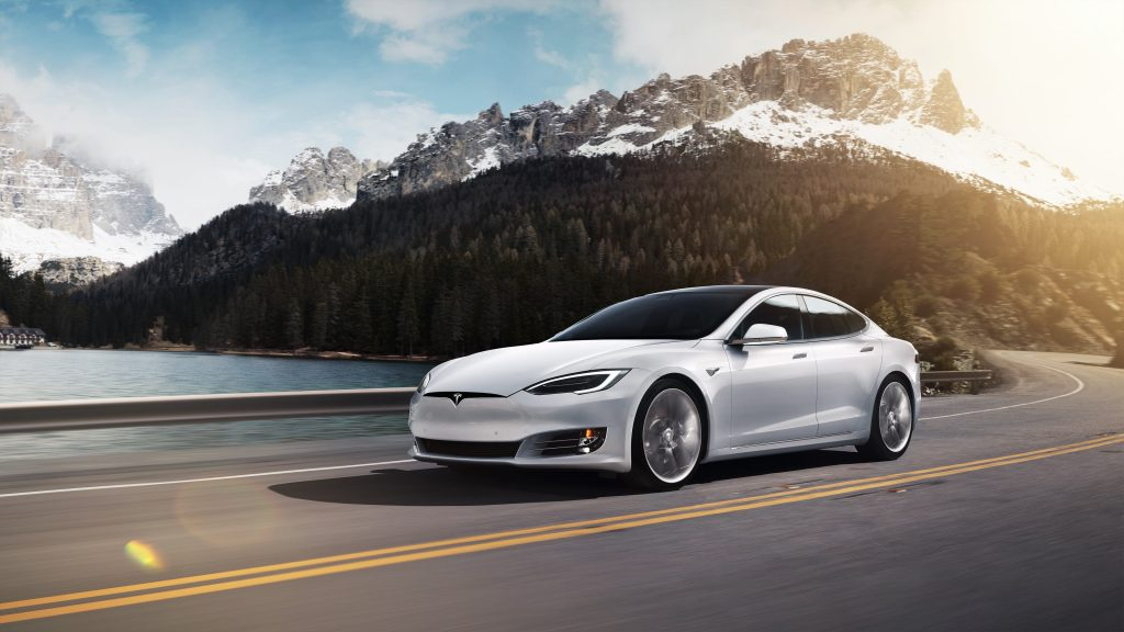 Tesla Model S wit manisfaction