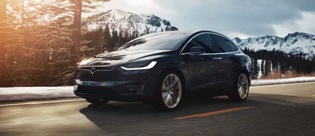Tesla Model X bergen - Manisfaction