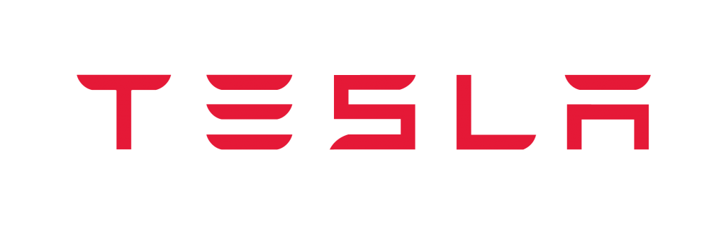 Tesla Wordmark Red-Manisfaction