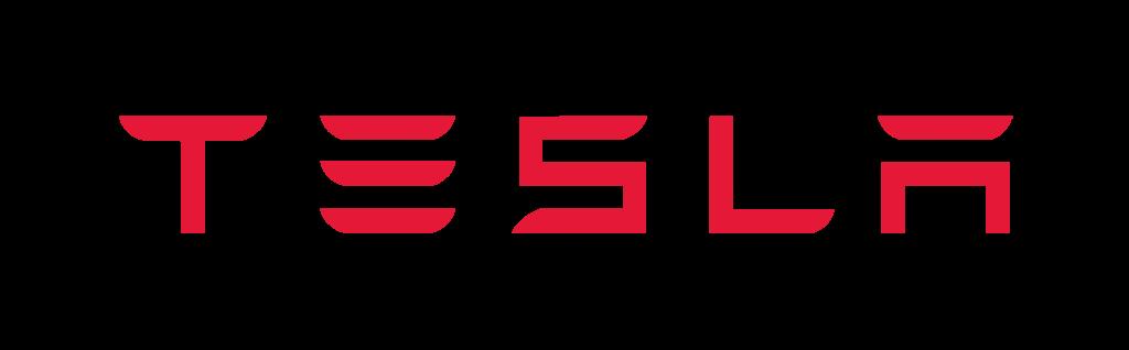 Tesla Wordmark Red-Manisfaction