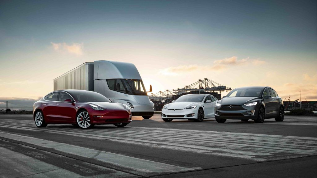Tesla modellen SX3Semi-Family - Manisfaction